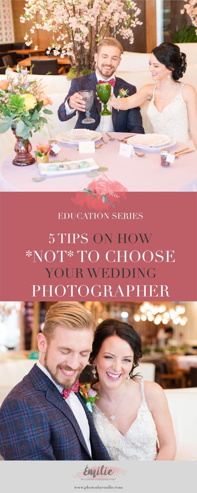 How to Choose you Wedding Photographer