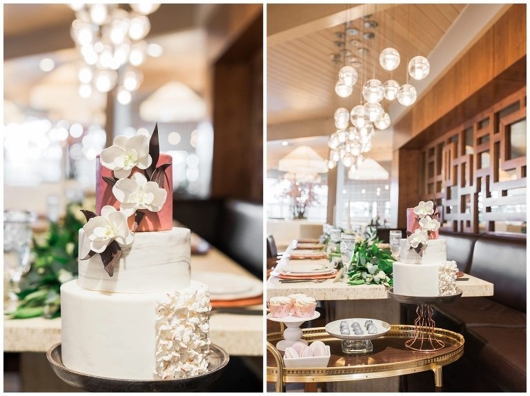 alloy-restaurant-old-hollywood-rose-gold-wedding-styled-shoot Emilie Photography, Edmonton, Sherwood Park, Alberta Vegan Wedding Photographers and Vendors, Ethical Photographers and Vendors
