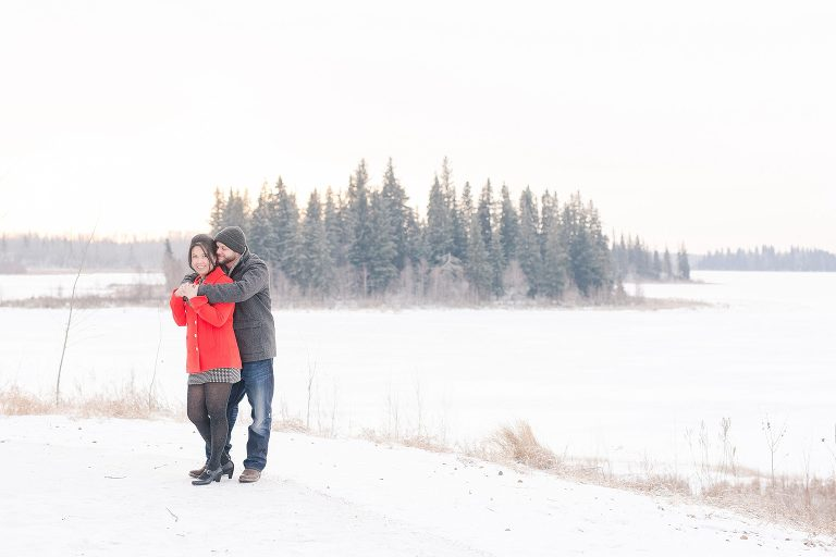 Norie and JS Engagement Session at Elk Island National Park, Alberta by Emilie C. Smith -- Emilie Photography - 9751_Stomped.jpg