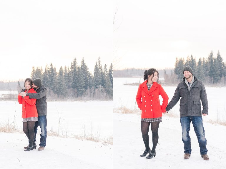 Norie and JS Engagement Session at Elk Island National Park, Alberta by Emilie C. Smith -- Emilie Photography - 9755_Stomped2.jpg