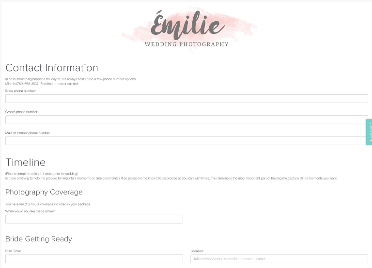 How I Keep my Business Organized with Dubsado - Emilie Photography
