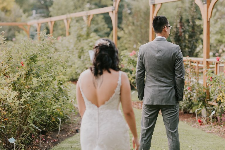 St Albert Botanic Garden Wedding