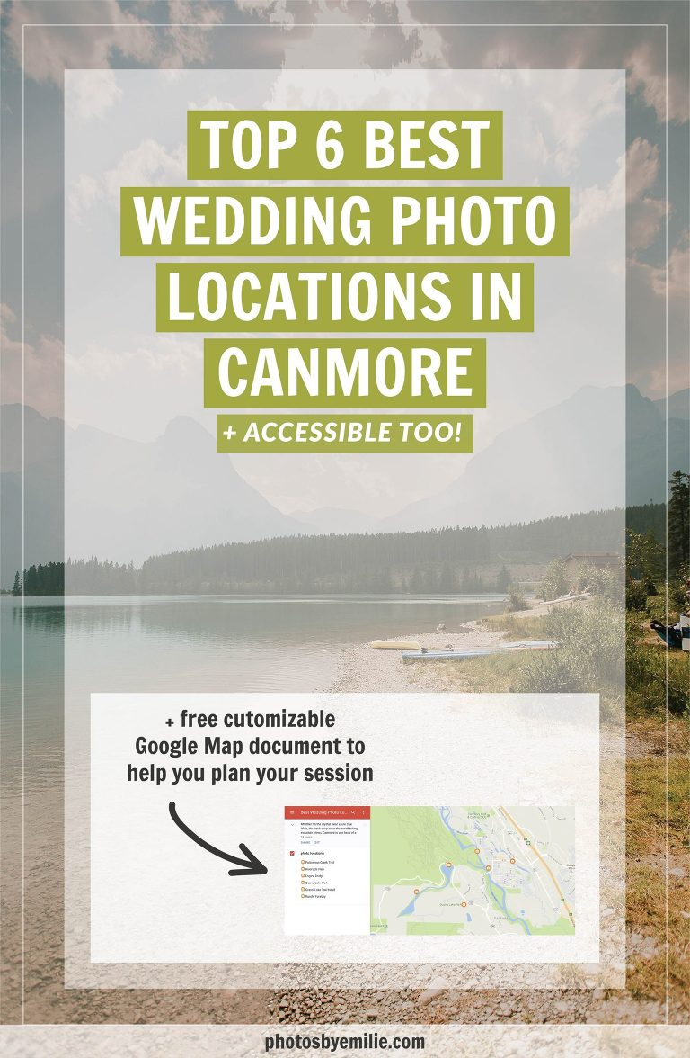 Best wedding photo locations in canmore edmonton wedding for Popular wedding registry locations