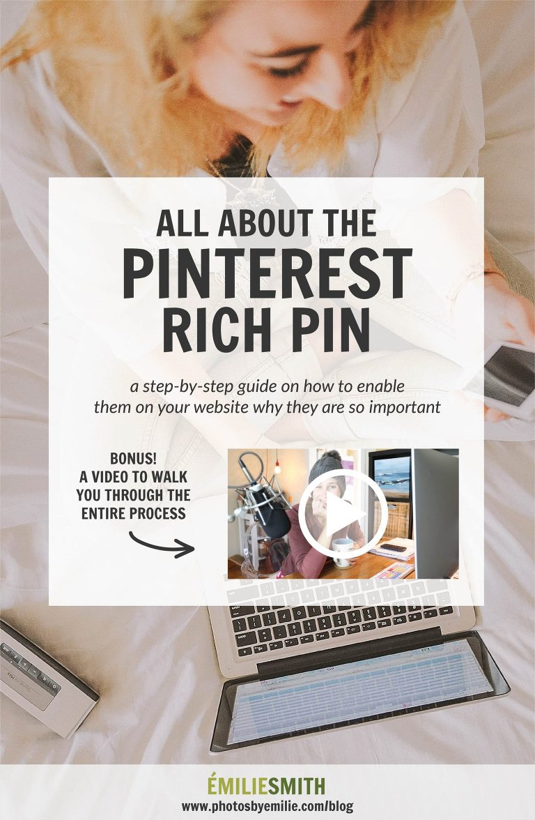 How to Enable Rich Pins