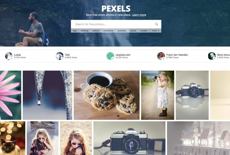 Top 10 Best Stock Photo Websites - Pexels