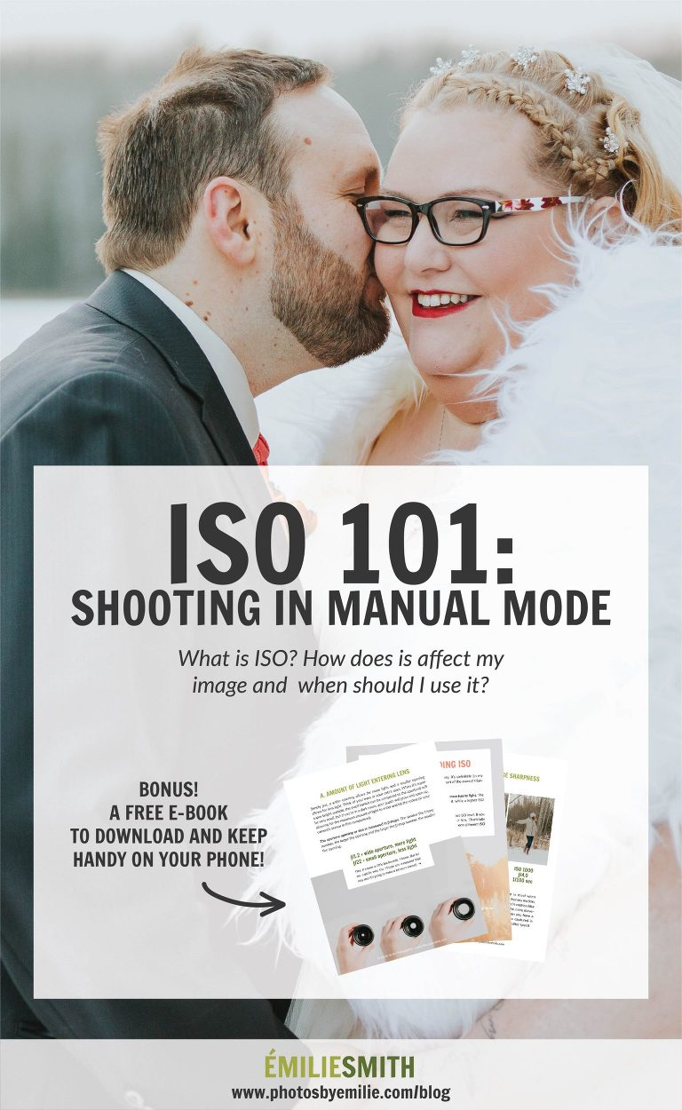 Shooting In Manual Mode - ISO 101