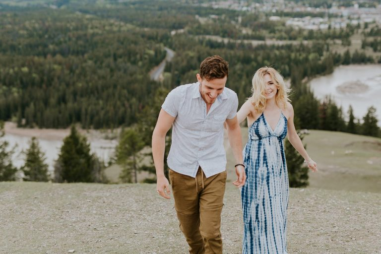 Caity and Mac Mountain Top Adventure Session