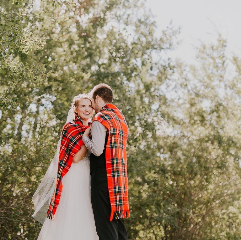 Jordanna and Travis Wedding at Lions Gate Gardens Edmonton Alberta by Emilie Smith Adventure Photography